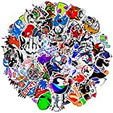 100 Animation stickersShang Brand Stickers, Cool Skateboard Stickers, Color Waterproof Stickers for laptops and Water Bottles, and Cute and Beautiful Vinyl Stickers.