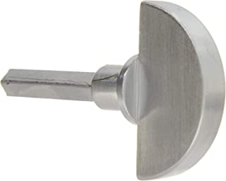 Baldwin 6720 Interior and Exterior Turn Knob for 6750, Satin Chrome