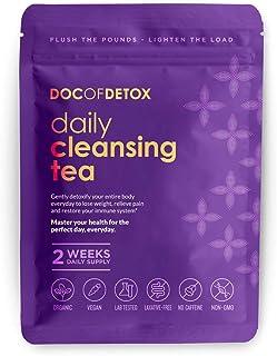 Doc Of Detox 2-Week Daily Detox Tea, Weight Loss Tea, Teatox Herbal Tea for Cleanse