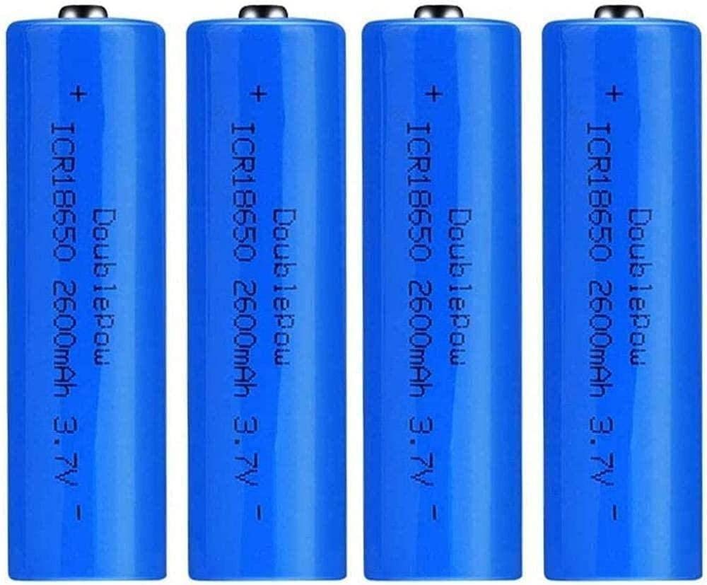 Rechargeable Batteries Beauty products Outlet SALE 18650 Lithium Ion 3 7V Battery Ca 2600mAh