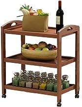 Multifunctional Kitchen Storage Rack Storage Shelf Kitchen Hot Pot Dishes Shelves Fruit Shelf Vegetable Rack Floor-Standin...