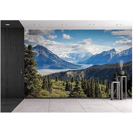 Wall26 Glacier National Park Montana Removable Wall Mural Self Adhesive Large Wallpaper 100x144 Inches Amazon Com