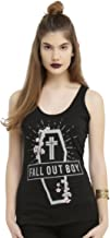 Hot Topic Fall Out Boy Coffin Strap Girls Tank Top