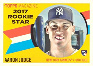 2017 Topps Archives 1960 Rookie Stars #RS-9 Aaron Judge Baseball Rookie Card