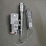 SymArt Airsoft CQBL-1 M600 M300 Flashlight Complete CNC Aluminio Impermeable Viga Roja Ajustable par...