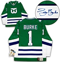 Sean Burke Hartford Whalers Autographed Signed Fanatics Vintage Hockey Jersey - Certified Authentic