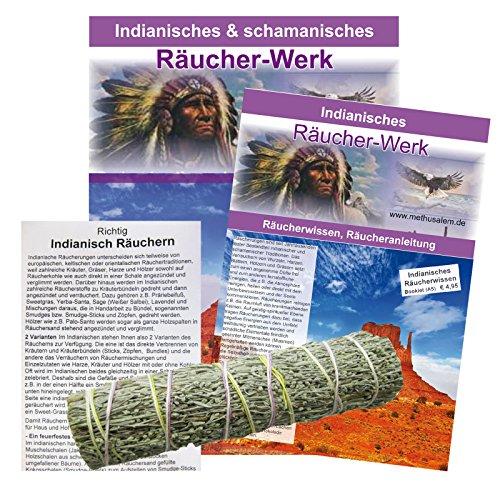 BEIFUSS Präriebeifuß Wüstenbeifuß Smudge Stick zum Räuchern. 1 x Bündel 10-12cm + 1 Booklet + Beschreibung + Anleitung. 81242