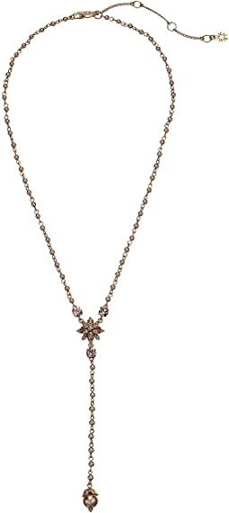 "Crystal 18"" Y-Necklace"