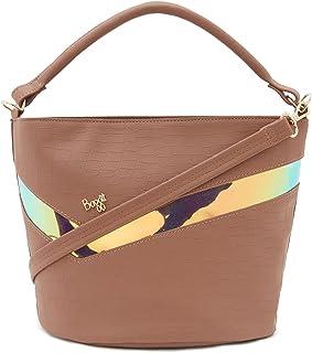 Baggit Women's Bucket Handbag (Tan)