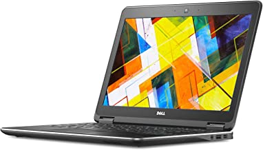 Dell Latitude E7250 12.5in Business Class Laptop, Intel Core i7 5600U 2.6Ghz, 16GB DDR3 RAM, 256GB mSata SSD, HDMI, Webcam, Windows 10 (Renewed)