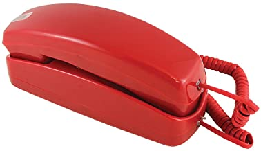 $22 » Golden Eagle Trimline Corded Telephone - Design From 60s With Modern Electronics -Red