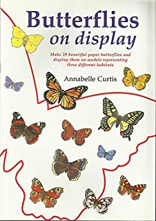 Butterflies on Display: Cut out butterfly models