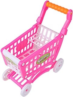 Barns shoppingvagnar, pedagogiska leksaker Barns shoppingvagnar Playset stormarknad leksats Barnrollspel matfruktspel för ...