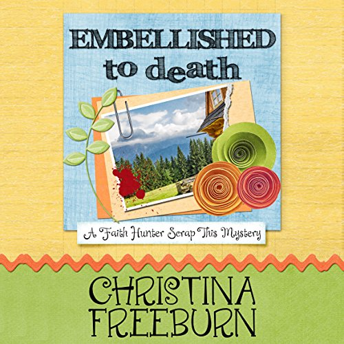 Embellished to Death audiobook cover art