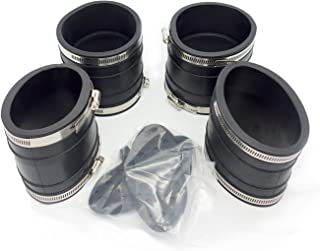 koxuyim #807166A1 New Exhaust Bellows, 1998 &Up Exhaust Y-Pipe Kit Hose Bellow Contain 32-14358T 32-44348T For Mercruiser