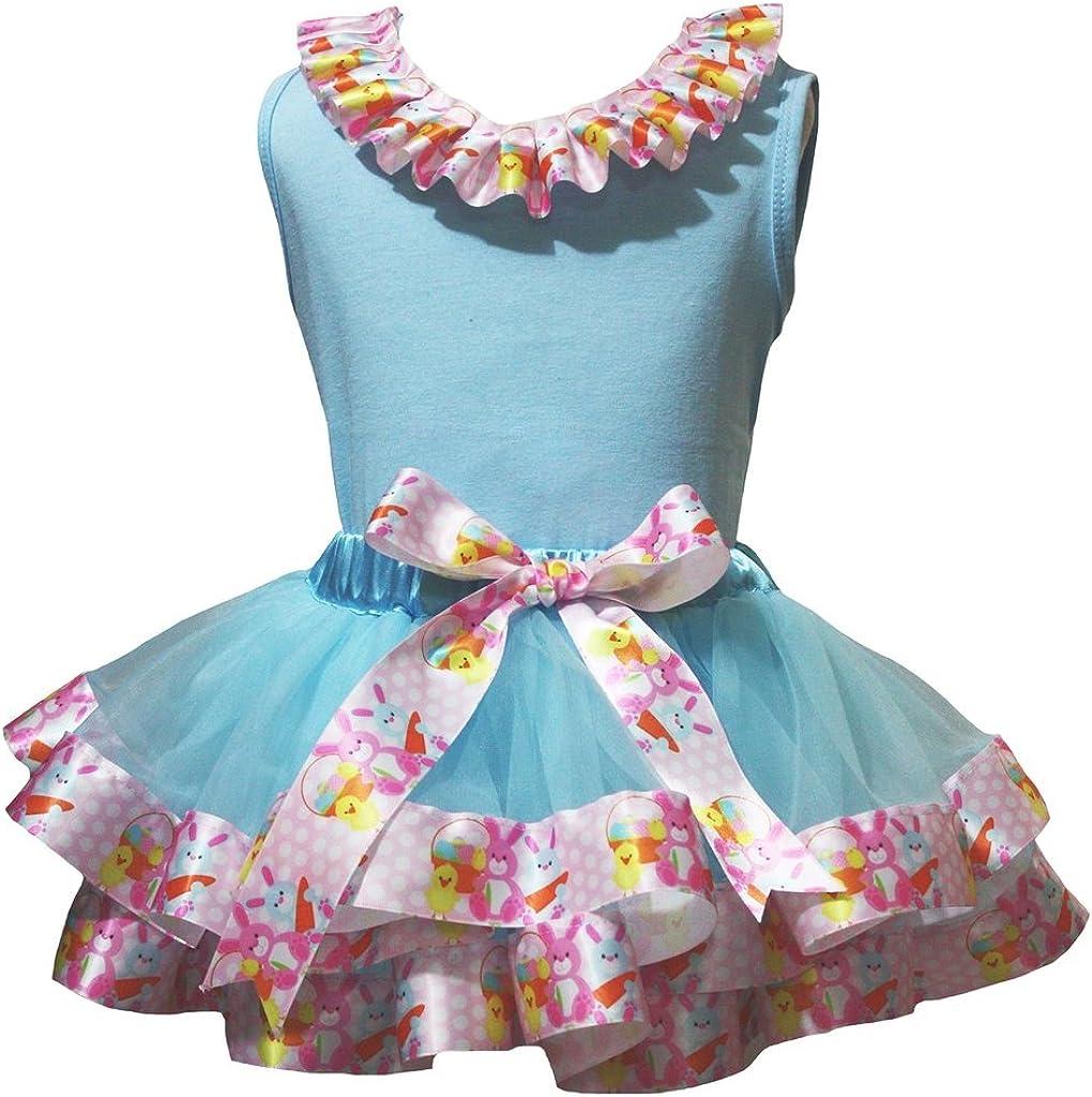 Cheap bargain Max 68% OFF Petitebella Plain Shirt Bunnies Ribbon Light Petal Se Skirt Blue