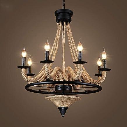 Amazon.es: lámparas rusticas de techo - 100 - 200 EUR ...