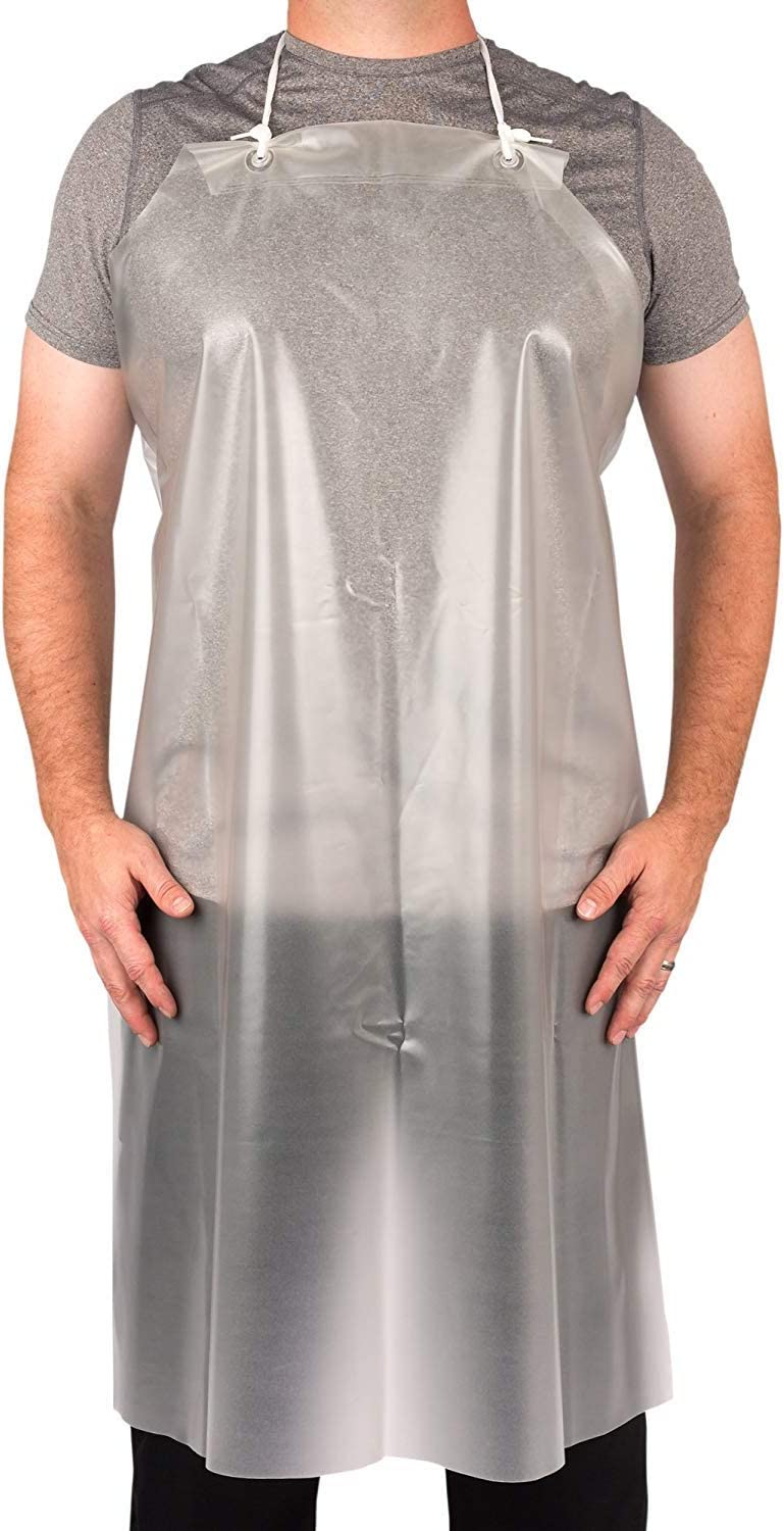KNG Clear Vinyl Water Proof Apron