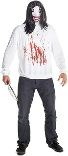 Men's Jeff The Killer Costume, One Size