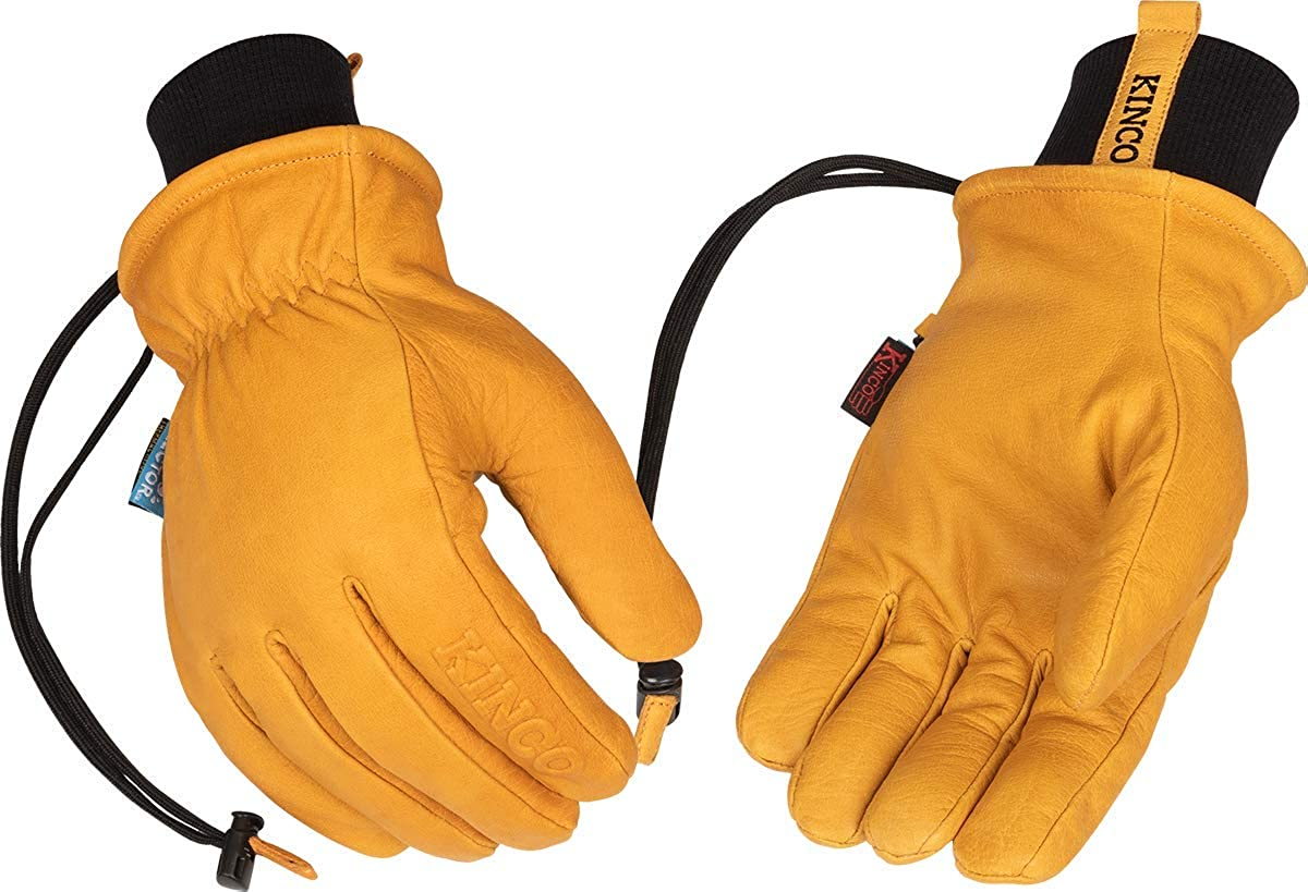 Kinco - Lined Premium Leather Work and Ski Gloves