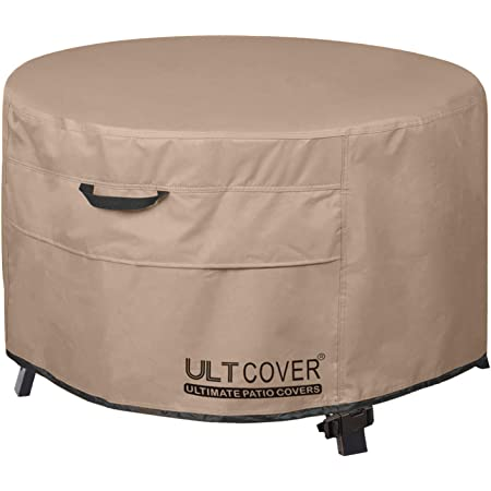 Amazon Com Duck Covers Elite Water Resistant 50 Inch Round Fire Pit Cover Automotive