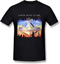Men's Earth Wind & Fire Music Band T-Shirt