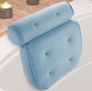 وسادة الحمام وسادة الحمام ملحقات الحمام 3D شبكة وسادة الحمام ، لينة ومقاومة للماء ، مسند رأس سبا ، وسادة حوض الاستحمام ووس...