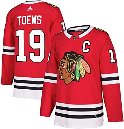 adidas Jonathan Toews Chicago Blackhawks NHL Men's Authentic Red Hockey Jersey