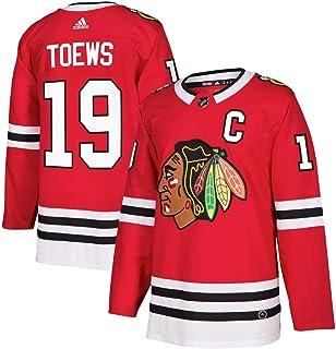 adidas Jonathan Toews Chicago Blackhawks NHL Men`s Authentic Red Hockey Jersey