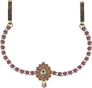 Vidhya Kangan Belly Chains for Women (Pink) (bro329)