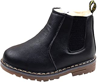 kids fleece lined boots