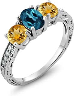 Best citrine blue topaz Reviews
