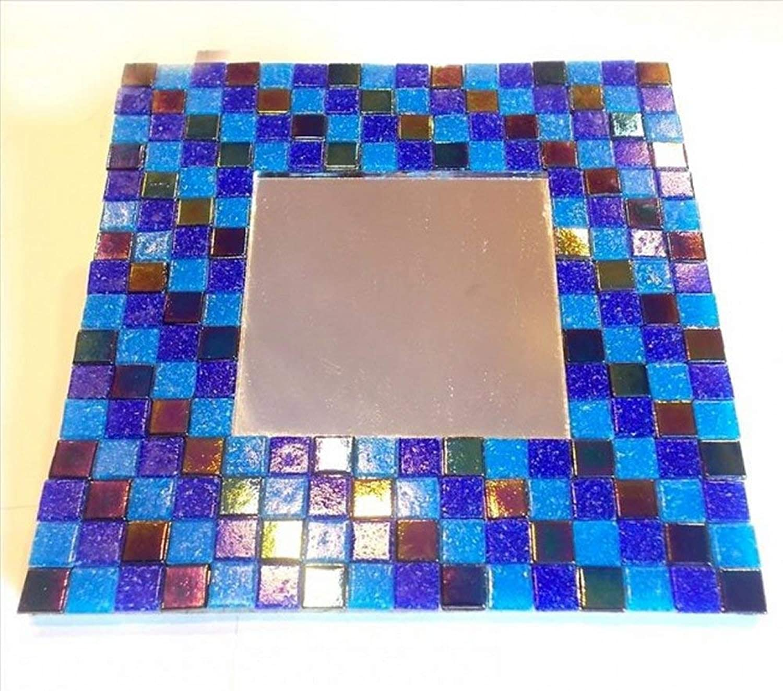 Mosaic Heaven Mosaic Mirror kit - Midnight Sea. Easy e divertimento to Craft, Great for Adults,  ldren, Schools, Beginner e Expert Mosaic Artist