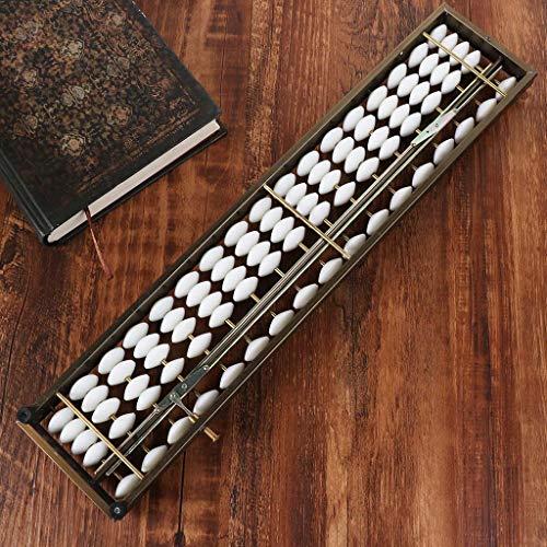 BINGHONG3 17 Ziffern Stangen Soroban Standard Abacus Chinesisch Japanisch Taschenrechner Zählwerkzeug Mathematik Lernen Anfänger