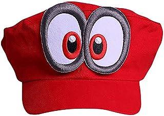 comprar comparacion Super Mario Gorra Odyssey - Costume para Adultos y niños Carnaval y el Cosplay - Ojos