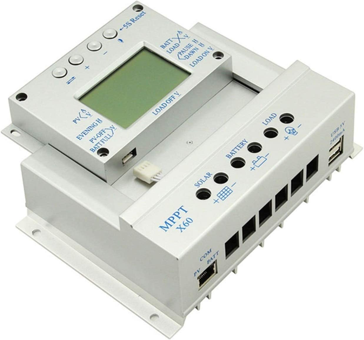 GNY MPPT 80A Limited time sale 60A Solar Charge Controller Japan Maker New 12V L 2m D E Cable 24V