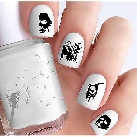 Michael Myers Halloween Adhesivos Para Uñas Juego De 40 Beauty