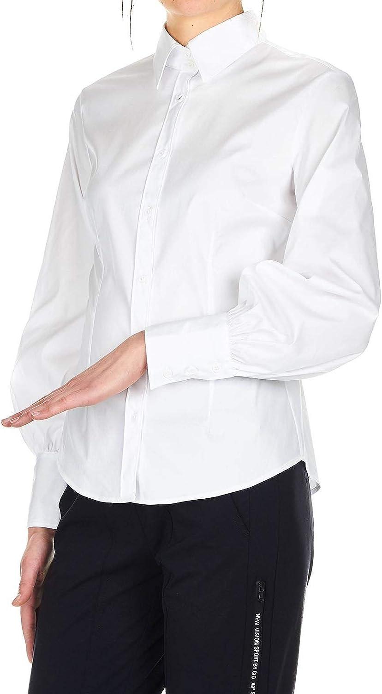 Himon's Women's 3200078510 White Cotton Shirt