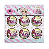 L.O.L. Surprise! Confetti Pop 6 Pack Dawn – 6 Re-Released Dolls Each with 9 Surprises