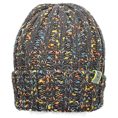 ofoot Hombre y Mujer,Winter Winter Coast,alfiler de Soja,con Manchas de Color y Rayas reflectoras,Sombrero de cráneo Flexible.