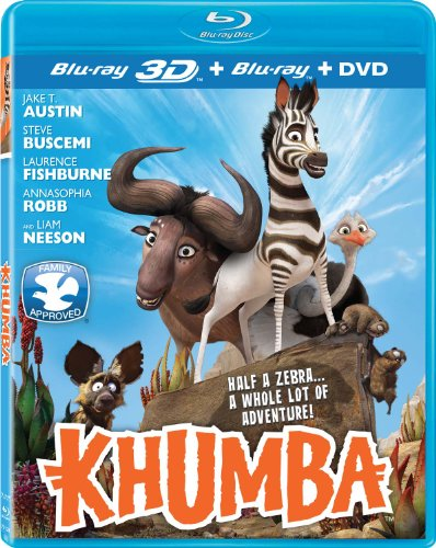 Khumba [3D/2D Blu-ray/DVD Combo]