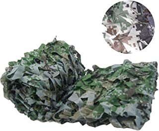 Image of NING Digital Camouflage Net Green Shading Net Cover Military Decoration Army Camouflage Outdoor Hunting Hide Camo Netting