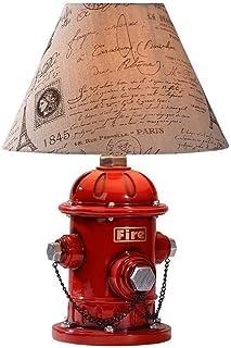 Lampe de table simple de bouche d'incendie, lampe de chevet de chambre de personnalité XYJGWSTD