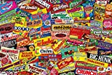 Ingooood- Jigsaw Puzzle- Collector Series – Crazy Candy - 1000 Pieces for Adult Wooden Toys Graduation