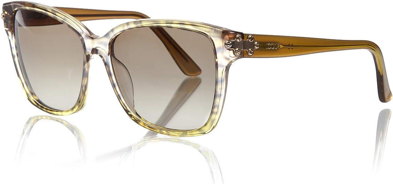 Emilio Pucci EP 716S 250 Yellow Pucci Print Sunglasses