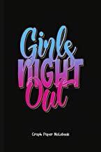 Gag Gift Girls Night Out: Graph Paper Notebook (6x9 100 Pages) Gift for Colleagues, Friends and Family