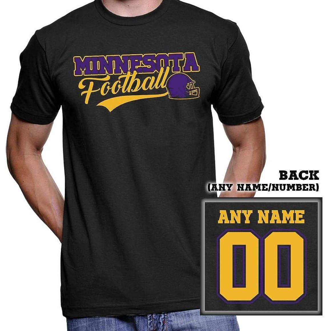 Minnesota Football Fans Customized T-Shirt Hoodie/Long Sleeve/Tank Top/Sweatshirt