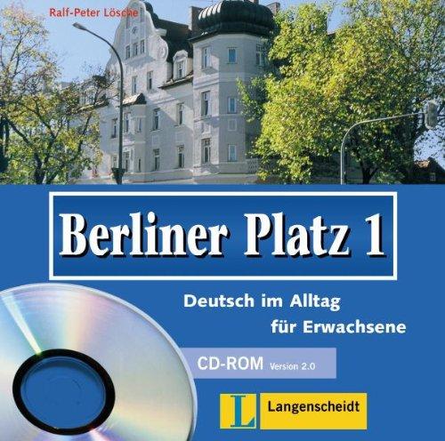 Berliner Platz 1. CD-ROM: Deutsch im Alltag für Erwachsene