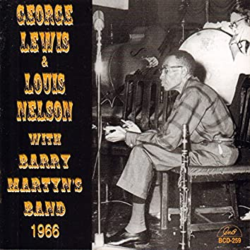 George Lewis and Louis Nelson with Barry Martyn's Band 1966