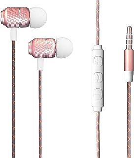 Galaxy A21s - Hörlurar med mikrofon och fjärrkontroll högupplösta hörlurar [Brusisolering] Hörlurar Ultra [Basdriven] Klar...